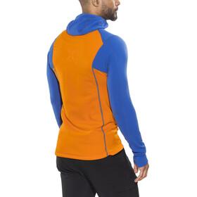 Mammut Eiswand Advanced ML sweater Heren oranje/blauw